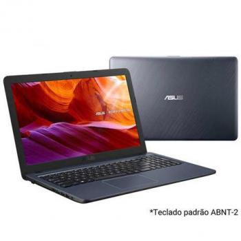 Notebook Asus VivoBook, IntelCorei3 7020U, 4GB, 256GB, Tela 15,60″, HD graphics 620, Cinza Escuro – X543UA-DM3459T