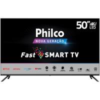 "Smart TV 55"" Philco 4K HDR Wi-Fi 4 HDMI 2 USB PTV55G70SBLSG"