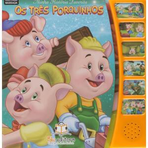 Livro Minha Historia Favorita (Os Três Porquinhos) - Vários Autores