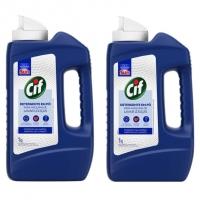 Detergente Em Pó Limpador De Uso Geral Para Máquina De Lavar Louças Cif Frasco 1kg, Cif