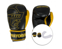 Kit Pretorian Bandagem + Protetor Bucal + Luvas de Boxe Core – 12 OZ