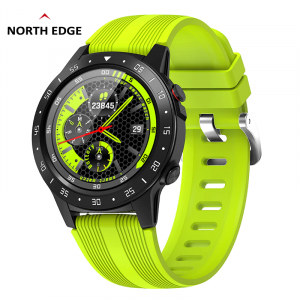 Smartwatch NORTH EDGE GPS Full Screen Heart Rate Blood