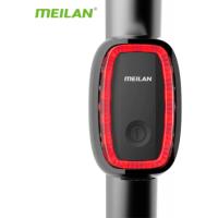 Luz Traseira Inteligente para Bicicleta - Meilan
