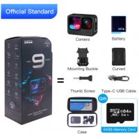 Câmera GoPro Hero 9 Black 5k Ultra HD 1720mAh