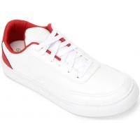 Tênis Burn New Masculino - Branco+Vermelho