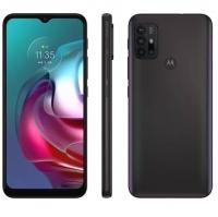 "Smartphone Motorola Moto G30 128GB Dark Prism 4G - 4GB RAM Tela 6,5"" Câm. Quádrupla"