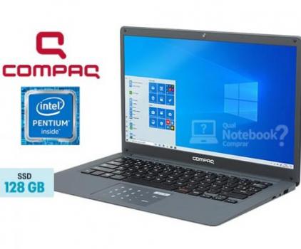 "Notebook Compaq Presario CQ-25 4GB 120GB SSD 14"""
