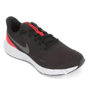 Tênis Nike Revolution 5 Masculino - Preto+Vermelho