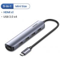 Hub USB C UGREEN 5 in 1 Mini Size