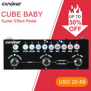 Pedal para Guitarra Cube Baby portátil