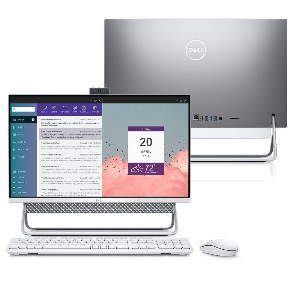 Computador All in One Dell Inspiron 5490-MS10S 10ª Geração Intel Core i5 12GB 256GB SSD 23.8″ Touch Windows 10