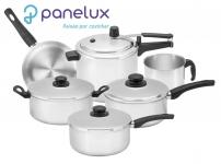 Conjunto de Panelas Panelux Classic Polida 6 Pçs com Panela de Pressão