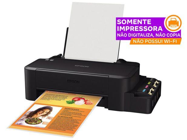 Impressora Epson EcoTank L120 – Jato de Tinta Colorida USB