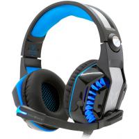 Headset Gamer Husky Snow USB 7.1 Surround LED Azul - HS-HSN-BL
