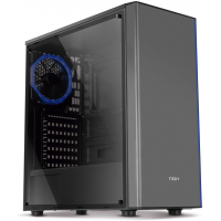 Gabinete Gamer NOX Infinity Omega RGB Rainbow 1 Cooler Lateral em Acrílico - NXINFINTYOMEGA