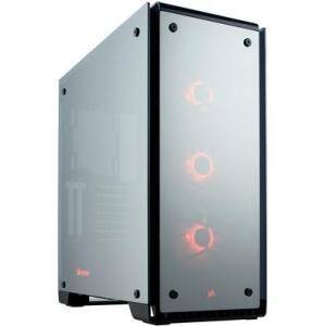 Gabinete Corsair Gamer Crystal 570X RGB ATX Lateral em Vidro - CC-9011126-WW