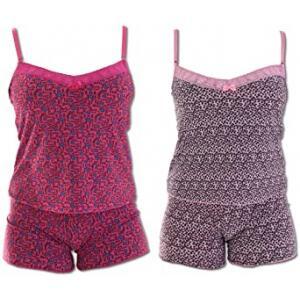 Kit 2 Baby Doll Thays Pijama para Dormir Liganete