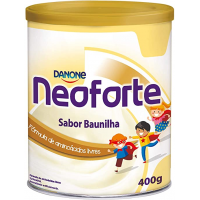 10 unidades Neoforte Baunilha Danone Nutricia 400g