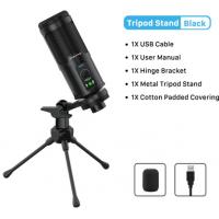 Microfone Condensador Cabletime USB Tripod Stand