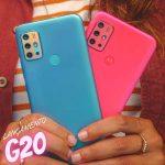 "Smartphone Motorola Moto G20 64GB 4G – 4GB RAM Tela 6,5"" Câm. Quádrupla + Selfie 13MP"