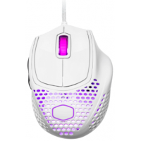 Mouse Gamer Cooler Master MM720 16.000 DPI 6 Botões RGB Glossy White