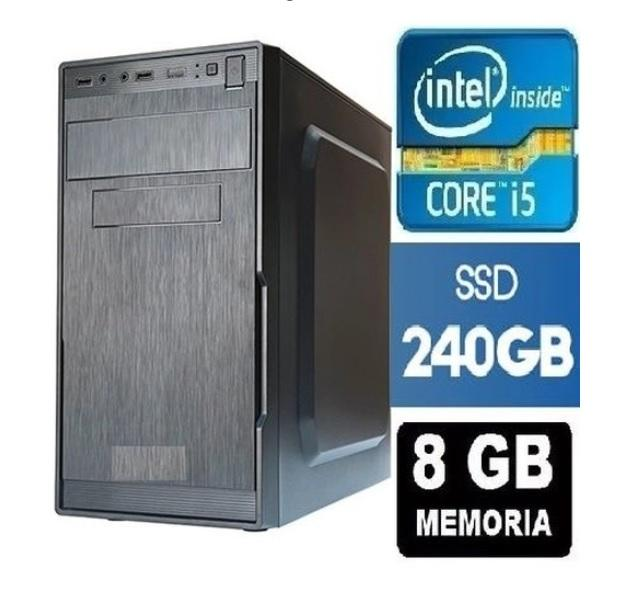 CPU Intel Core I5 8GB SSD 240GB + Wifi + DVD