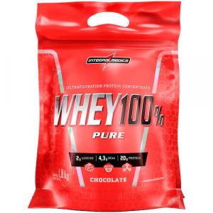 Whey Protein Integralmédica Chocolate 100% Pure - 1,8Kg