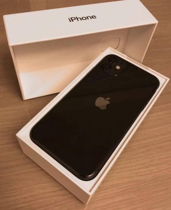 """iPhone 11 Apple 64GB Preto, Tela de 6,1"""", Câmera Dupla de 12MP, iOS"""