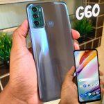 "Smartphone Motorola Moto G60 128GB 4G – 6GB RAM Tela 6,8"" Câm. Tripla + Selfie 32MP"