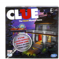 Jogo de Tabuleiro Clue A5826 - Hasbro