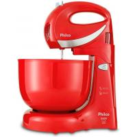 Batedeira Philco Paris Duo Mixer Turbo com 4 Velocidades - Vermelha