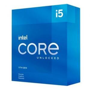 Processador Intel Core i5-11600KF 11ª Geração Cache 12MB 3.9 GHz (4.9GHz Turbo) LGA1200 - BX8070811600KF