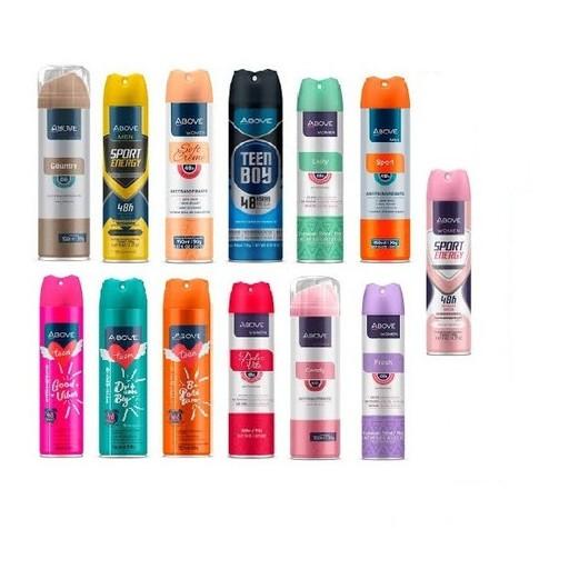 Desodorante ABOVE aerosol 150ml Feminino e Masculino